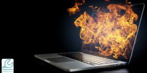 دلایل داغ شدن لپ تاپ سامسونگ