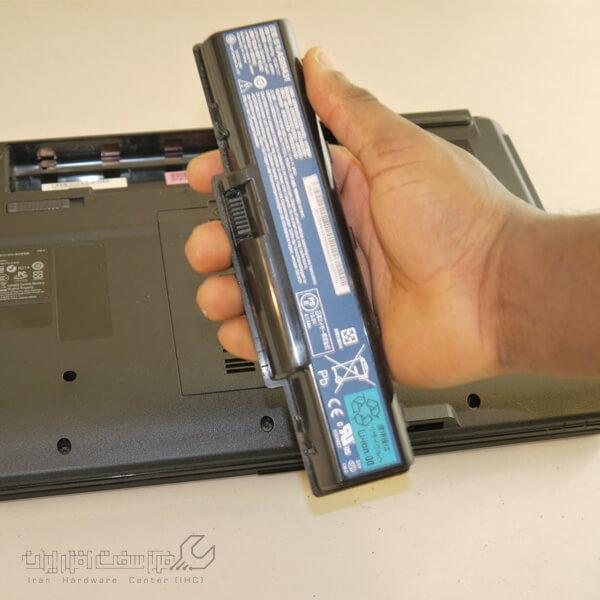 تعمیر تخصصی باتری لپ تاپ