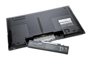شوک دادن باتری لپ تاپ