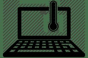کاهش دمای لپ تاپ