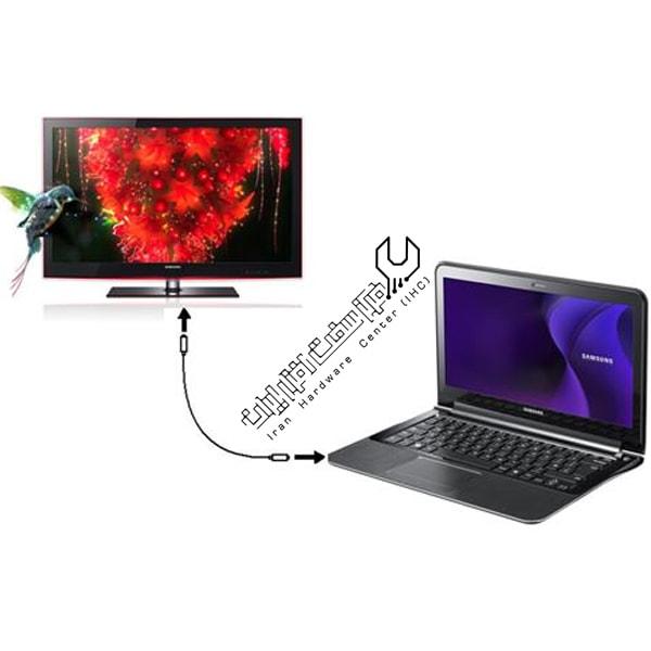 آموزش وصل کردن بی سیم لپ تاپ به تلویزیون