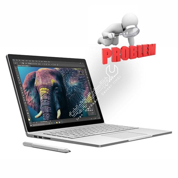مشکلات رایج در لپ تاپ
