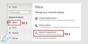 بررسی علت وصل نشدن WiFi لپ تاپ