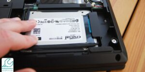 نصب هارد SSD روی لپ تاپ