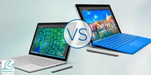 مقایسه سرفیس لپ تاپ با سرفیس بوک