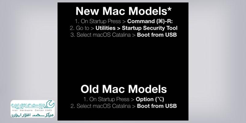 نصب سیستم عامل مک از روی فلش مموری